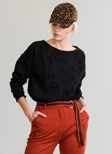 Desenli Sweatshirt-People By Fabrika